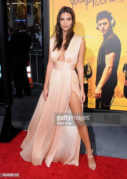 Actress Emily Ratajkowski attends the Premiere of Warner Brothers Pictures' 'We Are Your Friends' at TCL Chinese Theatre on August 20, 2015 in...
