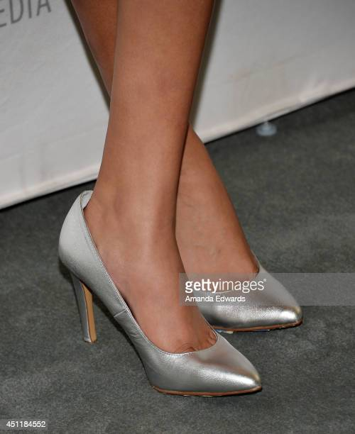 """Actress Emily Rios arrives at The Paley Center for Media's premiere screening of FX's """"The Bridge"""" at The Paley Center for Media on June 24, 2014 in..."""