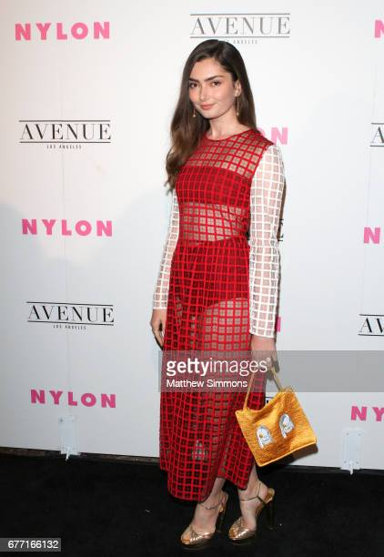 Actress Emily Robinson attends NYLON's Annual Young Hollywood May Issue Event at Avenue on May 2 2017 in Los Angeles California