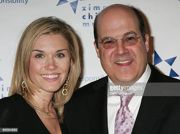 Actress Emily Rose and USA Network's executive vice president for original programming Jeff Wachtel attend the 8th annual Discovery Award Dinner at...