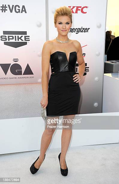 Actress Emily Rose arrives at Spike TV's '2011 Video Game Awards' at Sony Studios on December 10 2011 in Los Angeles California