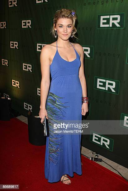 Actress Emily Rose arrives at the ER Finale Party held at Social night club on March 28 2009 in Hollywood California
