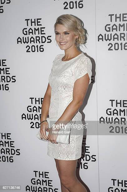Actress Emily Rose attends 2016 Game Awards at Microsoft Theater on December 1 2016 in Los Angeles California