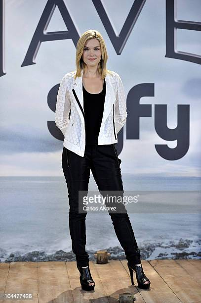Actress Emily Rose attends 'Haven' photocall on September 27 2010 in Madrid Spain