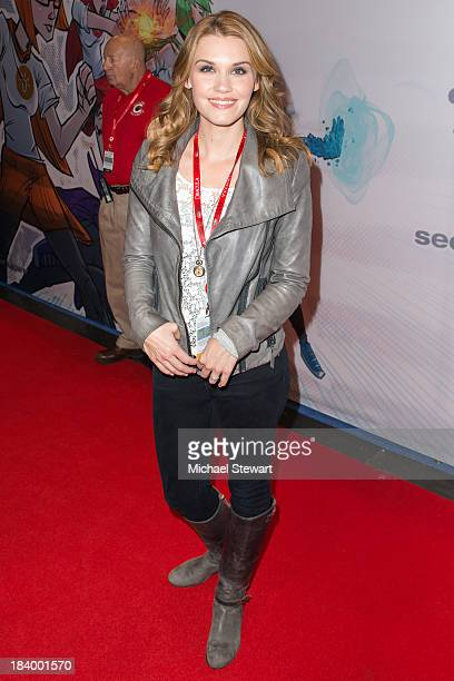 Actress Emily Rose attends New York Comic Con 2013 at Jacob Javits Center on October 10 2013 in New York City