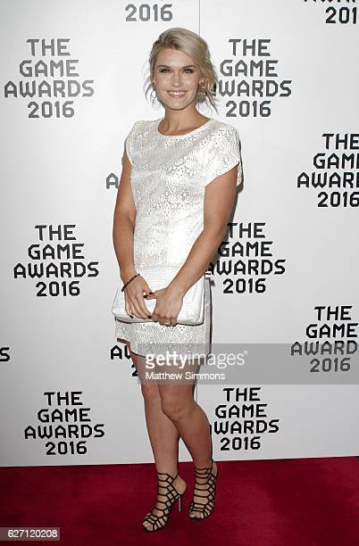 Actress Emily Rose attends the 2016 Game Awards at Microsoft Theater on December 1 2016 in Los Angeles California
