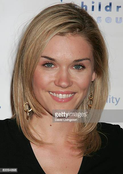Actress Emily Rose attends the 8th annual Discovery Award Dinner at The Beverly Hills Hotel on November 6 2008 in Beverly Hills California