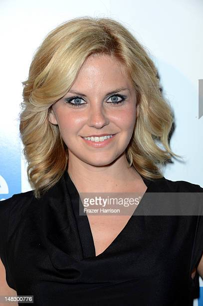 Actress Emily Rose attends the HAVEN Cast Celebrity and Fan Fest during 2012 ComicCon International held at Sidebar on July 12 2012 in San Diego...