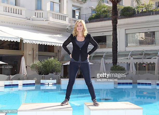 Actress Emily Rose poses during the TV series photocall 'Haven' during the 26th edition of the fiveday MIPCOM on October 5 2010 in Cannes Thousands...