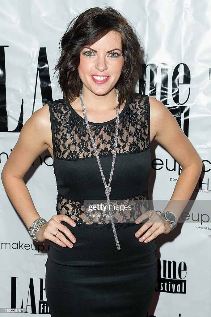 Actress Emily Sandifer attends the 9th Annual La Femme International Film Festival opening night gala premiere 'Psycho Circus' at The Renberg Theatre on October 17, 2013 in Los Angeles, California.