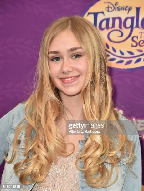Actress Emily Skinner attends a screening of Disney Channel's Tangled Before Ever After at The Paley Center for Media on March 4 2017 in Beverly...