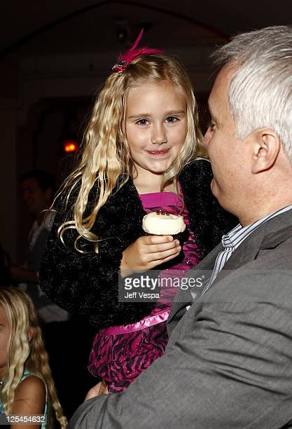 Actress Emily Skinner attends the 5th Anniversary of Glamour Reel Moments Presented by Hyundai at Chateau Marmont on October 25 2010 in Los Angeles...