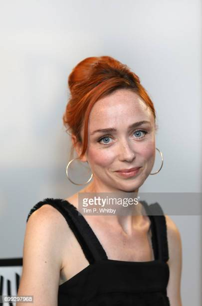 Actress Emily Taaffe poses for a photo after speaking about her new film 'Little Bird' at the Build LDN event at AOL London on June 21 2017 in London...