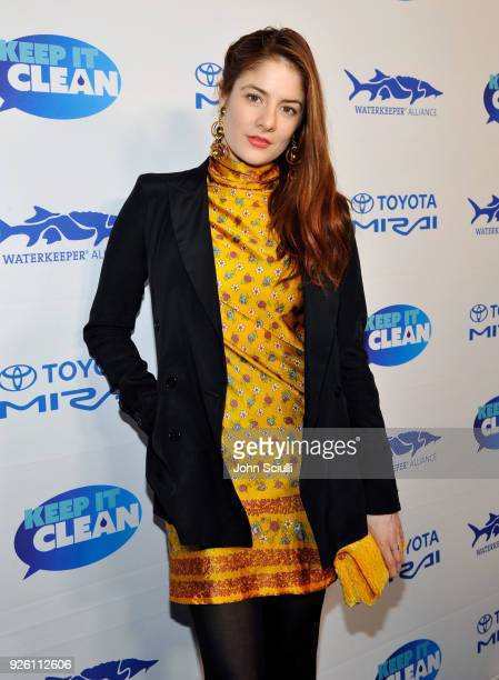 Actress Emily Tremaine attends Keep it Clean to benefit Waterkeeper Alliance on March 1 2018 in Los Angeles California