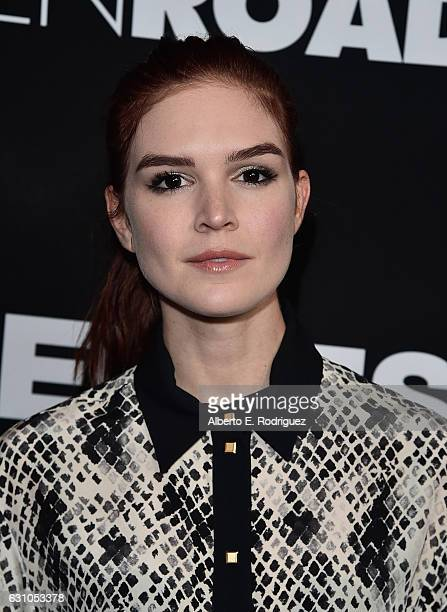 Actress Emily Tyra attends the Premiere of Open Road Films' Sleepless at Regal LA Live Stadium 14 on January 5 2017 in Los Angeles California