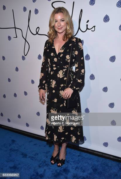 Actress Emily Van Camp attends Tyler Ellis Celebrates the 5th Anniversary And Launch Of Tyler Ellis x Petra Flannery Collection at Chateau Marmont on...