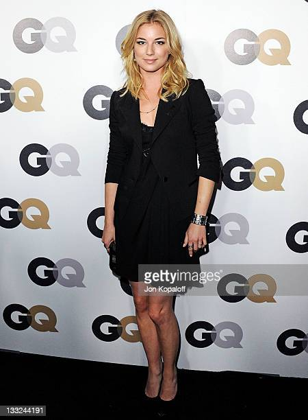 Actress Emily VanCamp arrives at the 16th Annual GQ 'Men Of The Year' Celebration at Chateau Marmont on November 17 2011 in Los Angeles California