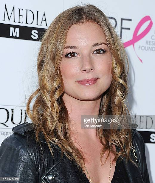 Actress Emily VanCamp arrives at the Los Angeles Premiere 'Ride' at ArcLight Hollywood on April 28 2015 in Hollywood California