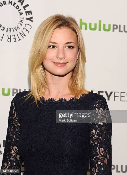 """Actress Emily VanCamp attends PaleyFest 2012 Presents """"Revenge"""" at Saban Theatre on March 11, 2012 in Beverly Hills, California."""