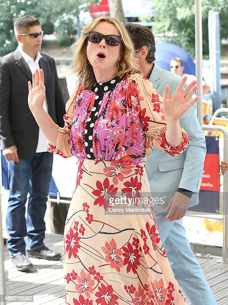 Actress Emily Watson attends day 1 of the 72nd Venice Film Festival on September 2 2015 in Venice Italy