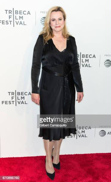 Actress Emily Watson attends the 'Genius' Premiere during the 2017 Tribeca Film Festival at BMCC Tribeca PAC on April 20 2017 in New York City