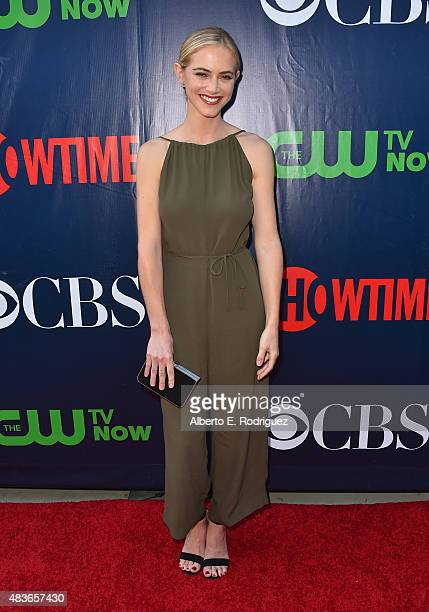 Actress Emily Wickersham attends CBS' 2015 Summer TCA party at the Pacific Design Center on August 10 2015 in West Hollywood California