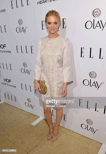 Actress Emily Wickersham attends ELLE's Annual Women in Television Celebration on January 22 2014 in West Hollywood California