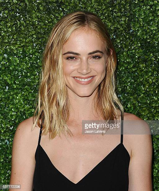 Actress Emily Wickersham attends the 4th annual CBS Television Studios Summer Soiree at Palihouse on June 2 2016 in West Hollywood California