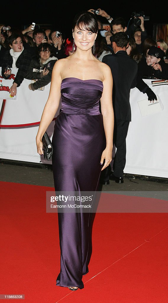 Actress Emma Barton arrives at the National Television Awards 2007 held at the Royal Albert Hall on October 31, 2007 in London, England.