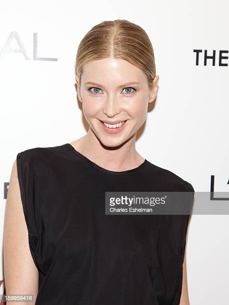 Actress Emma Booth attends the FilmDistrict with The Cinema Society L'Oreal Paris Appleton Estate screening of Parker at The Museum of Modern Art on...