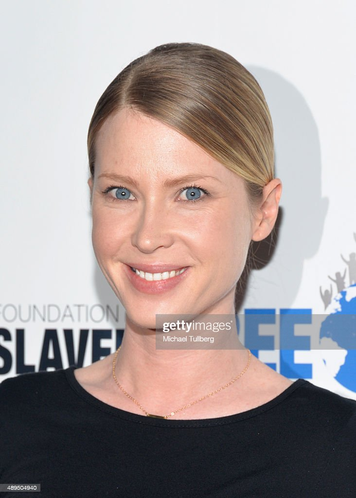 Actress Emma Booth attends The Human Rights Hero Awards presented by Marisol Nichols' Foundation for a Slavery Free World and Youth for Human Rights International at Beso on September 21, 2015 in Hollywood, California.