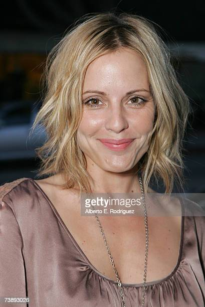 Actress Emma Cauflield attends the opening night of the Malibu Film Festival on April 13 2007 in Los Angeles California
