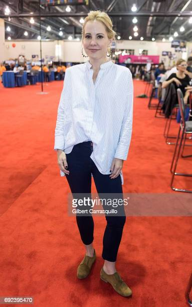 Actress Emma Caulfield attends Wizard World Comic Con Philadelphia 2017 Day 4 at Pennsylvania Convention Center on June 4 2017 in Philadelphia...