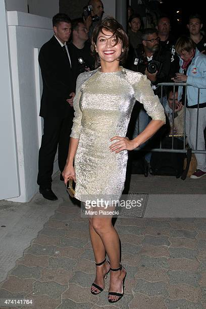 Actress Emma de Caunes attends the 'CHANEL' dinner at 'Tetou' restaurant during the 68th annual Cannes Film Festival on May 20 2015 in Cannes France