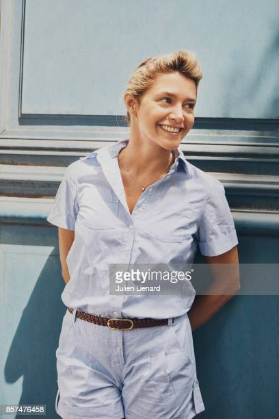 Actress Emma de Caunes is photographed for Self Assignment on June 22, 2017 in Paris, France.