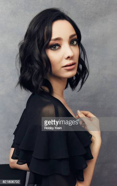 Actress Emma Dumont from FOX's 'The Gifted poses for a portrait during ComicCon 2017 at Hard Rock Hotel San Diego on July 22 2017 in San Diego...