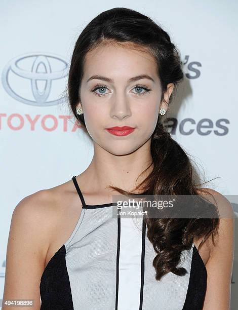 Actress Emma Fuhrmann arrives at Environmental Media Association Hosts Its 25th Annual EMA Awards Presented By Toyota And Lexus at Warner Bros...