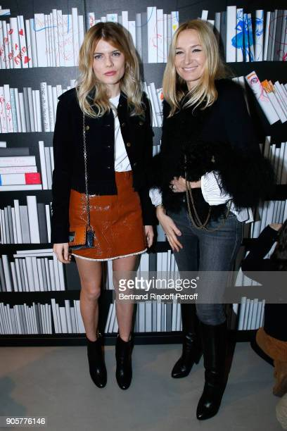 Actress Emma Greenwell and Artistic Director at Sonia Rykiel Julie de Libran attend the Manifesto Sonia Rykiel 5Oth Birthday Party at the Flagship...