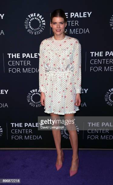 Actress Emma Greenwell attends Hulu's The Path Season 3 Premiere presented by the Paley Center for Media at The Paley Center for Media on December 21...