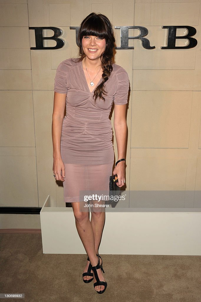 Actress Emma Greenwell attends the Burberry Body Launch event at Burberry on October 26, 2011 in Beverly Hills, California.