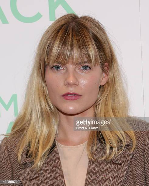 Actress Emma Greenwell attends the 'I Smile Back' New York Premiere held at the Museum of Modern Art on October 13 2015 in New York City