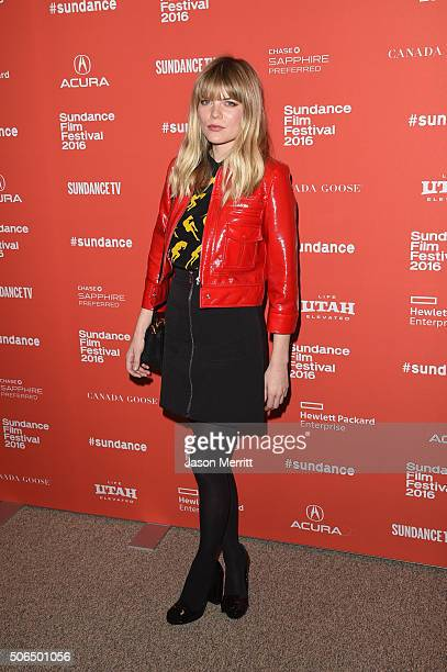 Actress Emma Greenwell attends the Love Friendship Premiere during the 2016 Sundance Film Festival at Eccles Center Theatre on January 23 2016 in...