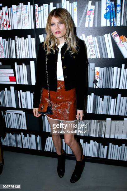 Actress Emma Greenwell attends the Manifesto Sonia Rykiel 5Oth Birthday Party at the Flagship Store Boulevard Saint Germain des Pres on January 16...