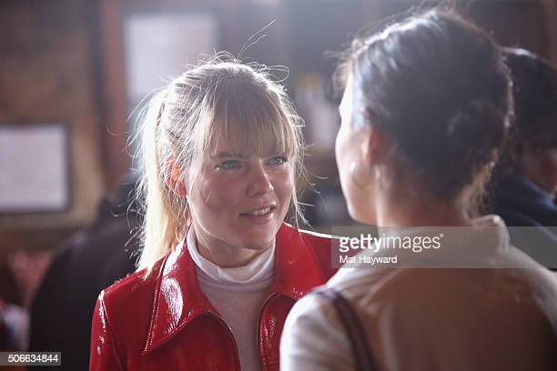 Actress Emma Greenwell attends the We are UK Film Party at Sundance 2016 on January 24 2016 in Park City Utah