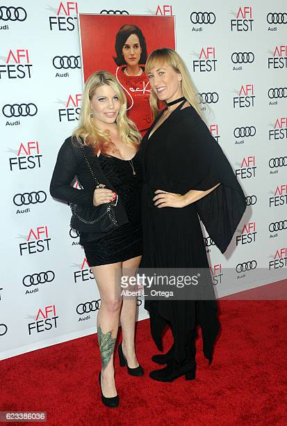 Actress Emma Julia Jacobs and Gina Wilbur arrive for AFI FEST 2016 Presented By Audi Centerpiece Gala Screening Of Fox Searchlight Pictures' Jackie...