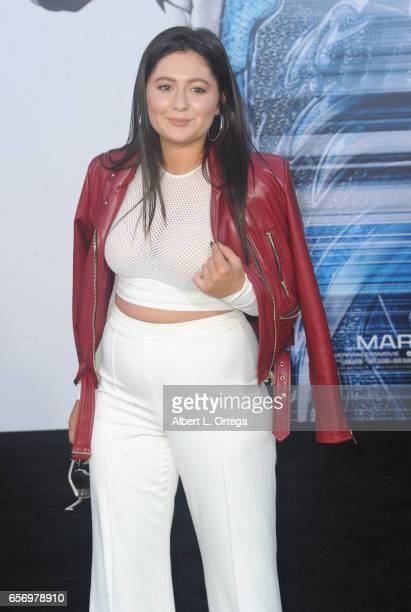 Actress Emma Kenney arrives for the Premiere Of Lionsgate's Power Rangers held on March 22 2017 in Westwood California