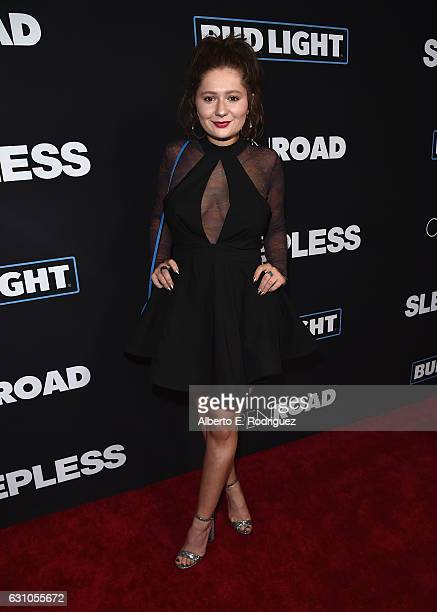 Actress Emma Kenney attends the Premiere of Open Road Films' Sleepless at Regal LA Live Stadium 14 on January 5 2017 in Los Angeles California