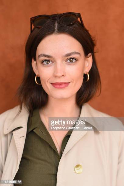 Actress Emma Mackey attends the 2019 French Tennis Open Day Fourteen at Roland Garros on June 08 2019 in Paris France