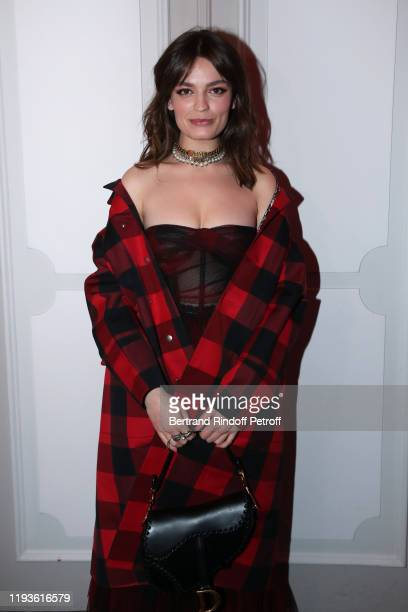 Actress Emma Mackey attends the Annual Charity Dinner hosted by the AEM Association Children of the World for Rwanda AIn on December 12 2019 in Paris...