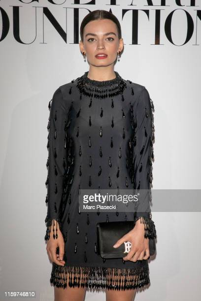 Actress Emma Mackey attends the Vogue diner as part of Paris Fashion Week Haute Couture Fall Winter 2020 at Le Trianon on July 02 2019 in Paris France